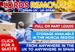 Lords Removals UK to Spain: Spain to UK