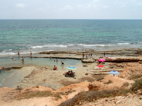 The Roman Quarry at Mil Palmeras beach