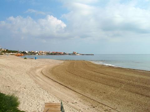 Playa Las Villas, Pilar de la Horadada