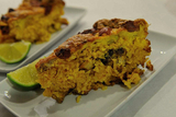 Valencia specialities: Arroz con Costra