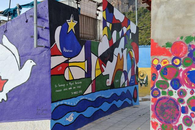 Murales de San Isidro, Orihuela