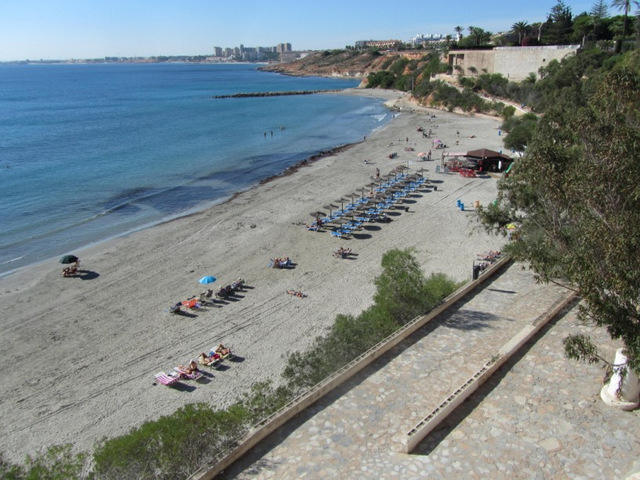 La Caleta beach, Orihuela (Cabo Roig)