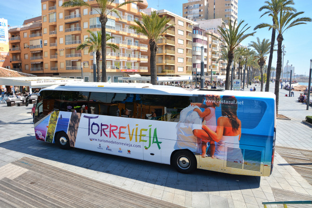 Alicante-Elche airport to Torrevieja bus service