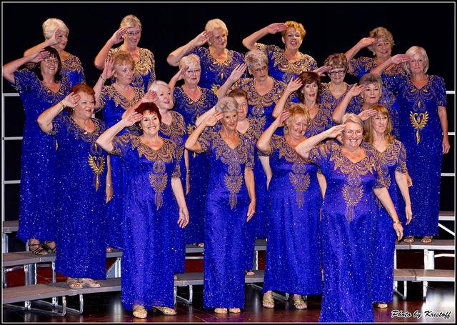 Velvetones Ladies Harmony Chorus, Torrevieja, weekly rehearsal