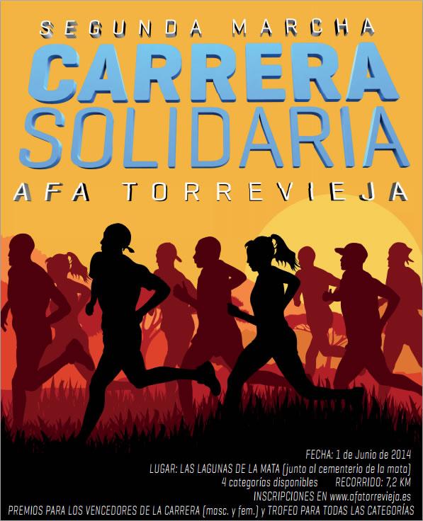 1st June, 7.2km running race, Torrevieja