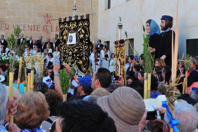 Romería al Monasterio de Santa Faz ( La Peregrina) in Alicante