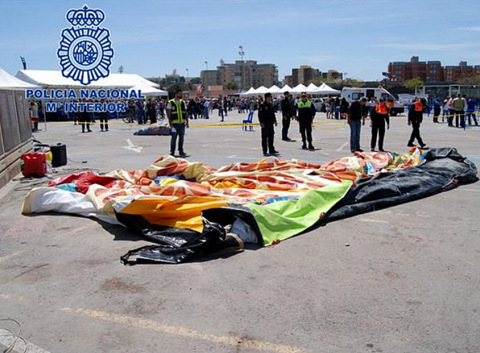 Man arrested in connection with Alicante bouncy castle accident