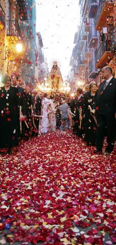 Fiesta de la Virgen de los Desamparados, Valencia