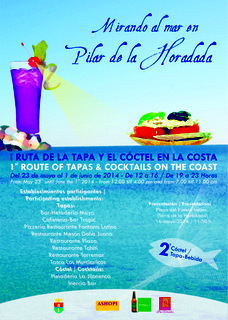 23rd May to 1st June, Tapas route, Torre de la Horadada