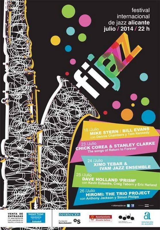 18th to 26th July, Fijazz festival in Alicante line-up