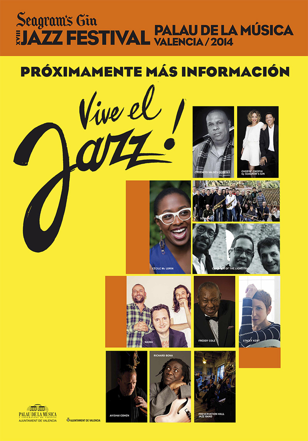 28th June to 15th July, 18th Seagram's Gin Jazz Festival in Valencia