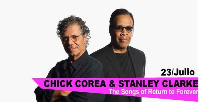 23rd July, Chick Corea and Stanley Clarke, Fijazz festival Alicante