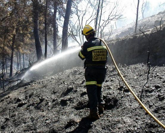Alicante: 23 hectares burnt in Cocentaina