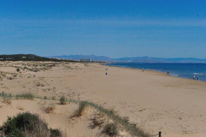 Playa de la Mata, the largest beach in Torrevieja