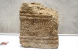 Roman altar-stone discovered in Sagunto, Valencia