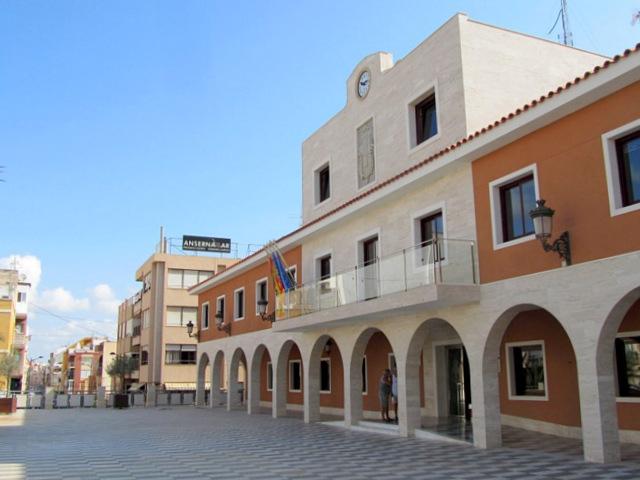 The Town Hall of Guardamar del Segura