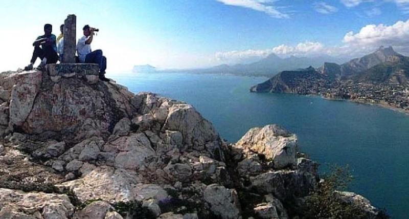 Obligatory booking needed to climb the Peñón de Ifach in Calpe