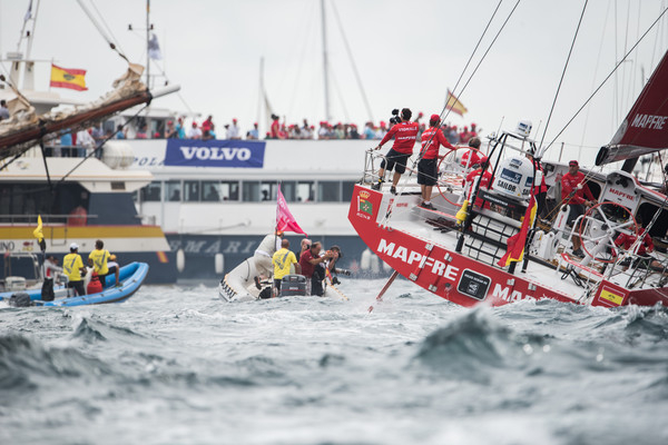start volvo ocean race 2017