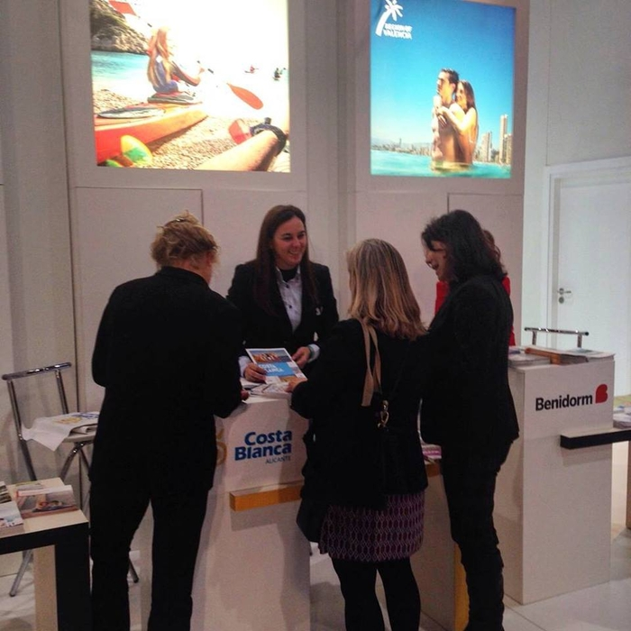 Costa Blanca delegation at major Dutch tourism fair