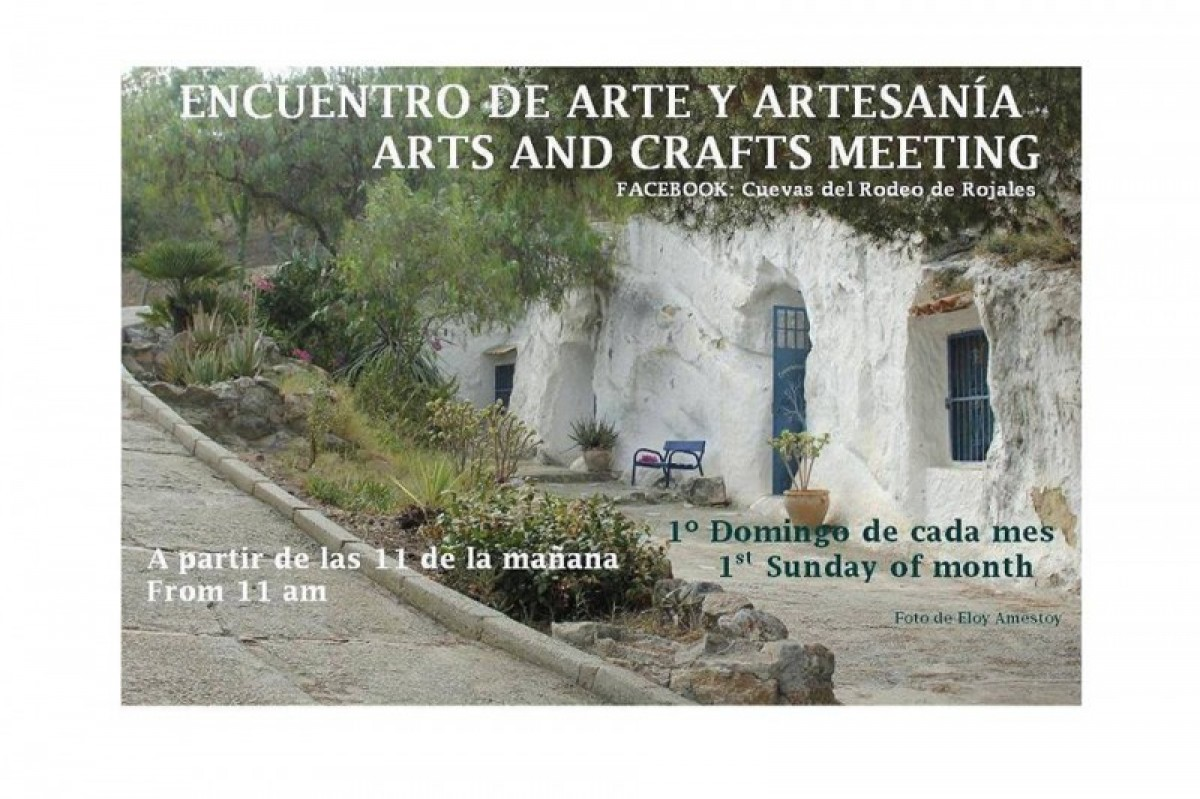 First Sunday of every month Arts and Crafts Meeting in Las Cuevas del Rodeo