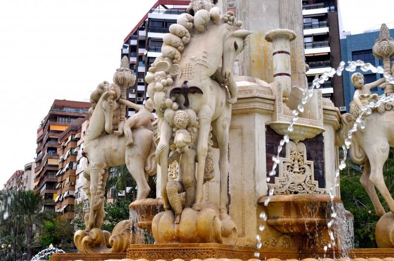 La Plaza de Los Luceros in Alicante