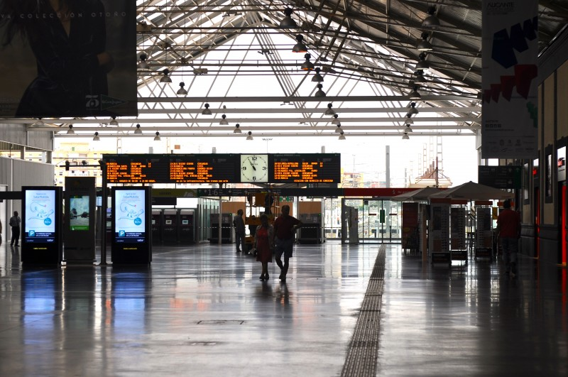 Alicante Terminal Railway Station