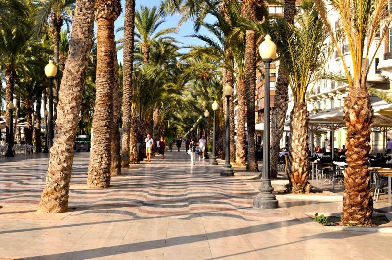 La Explanada de España in Alicante