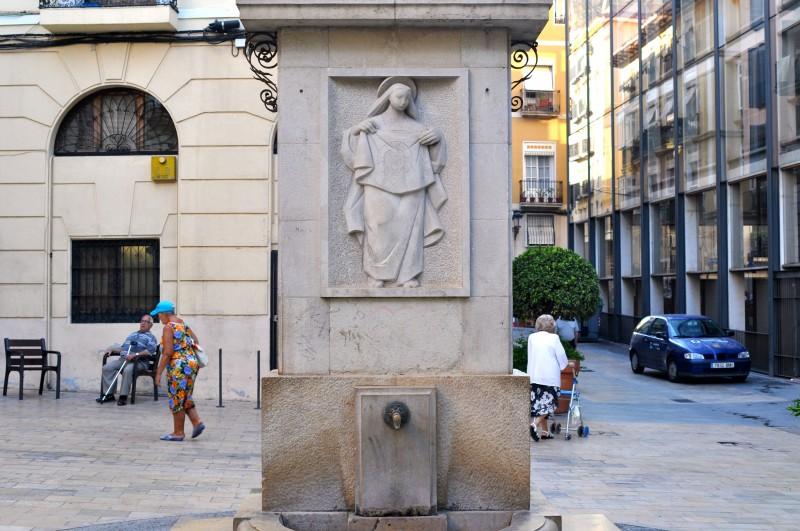 La Plaza de la Santísima Faz in Alicante