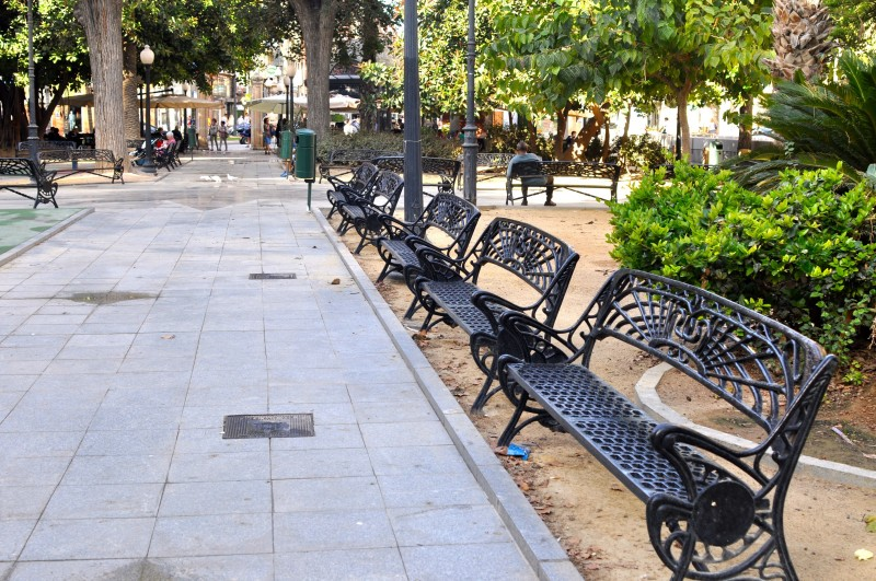 The Plaza de Calvo Sotelo in Alicante City
