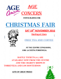 19th November, Age Concern Costa Blanca Sur, Christmas Fair