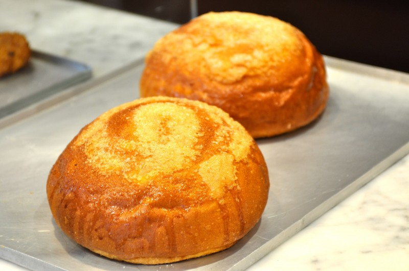 Toña, a typical brioche of Alicante province
