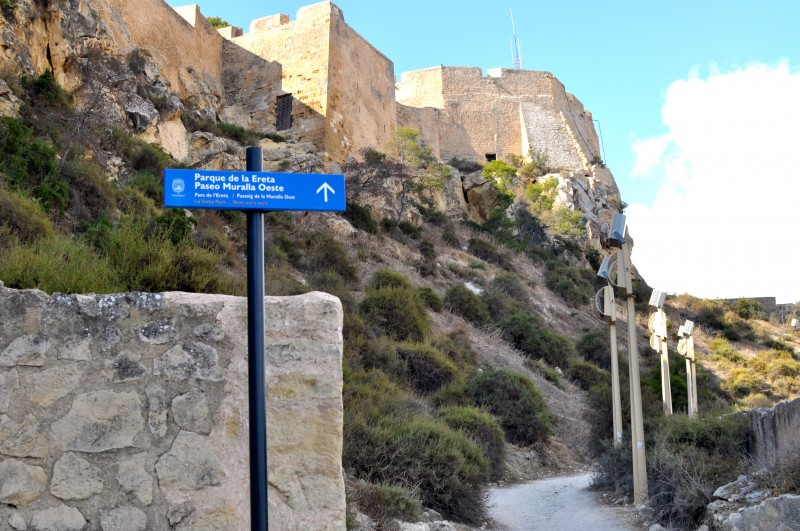Morning out in Alicante Route 1: Castle of Santa Bárbara and Ereta Park