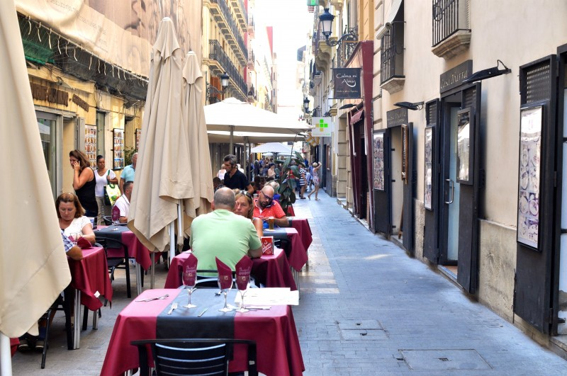 Calle Mayor in Alicante City