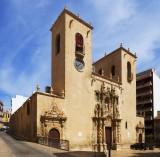 The Basílica de Santa María in Alicante City