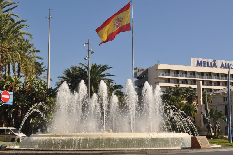 Plaza Puerta del Mar in Alicante City