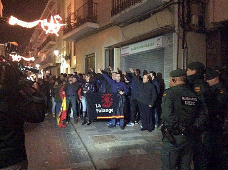Supporters of Franco emerge from the shadows in Callosa de Segura