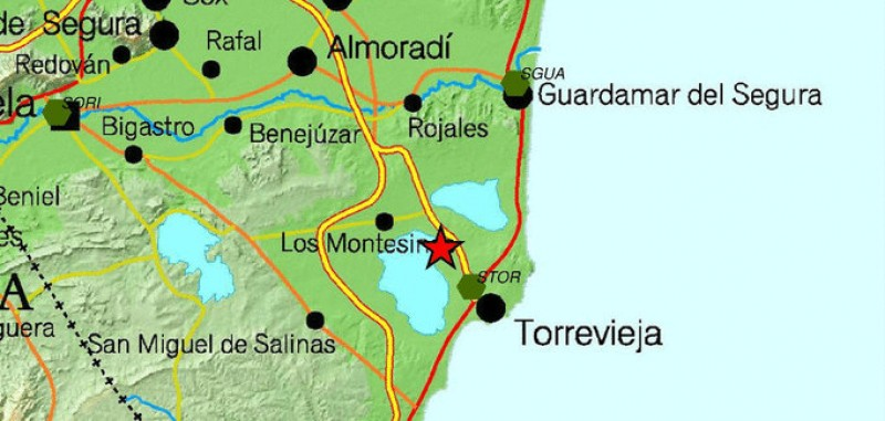 Minor earthquake shakes Torrevieja