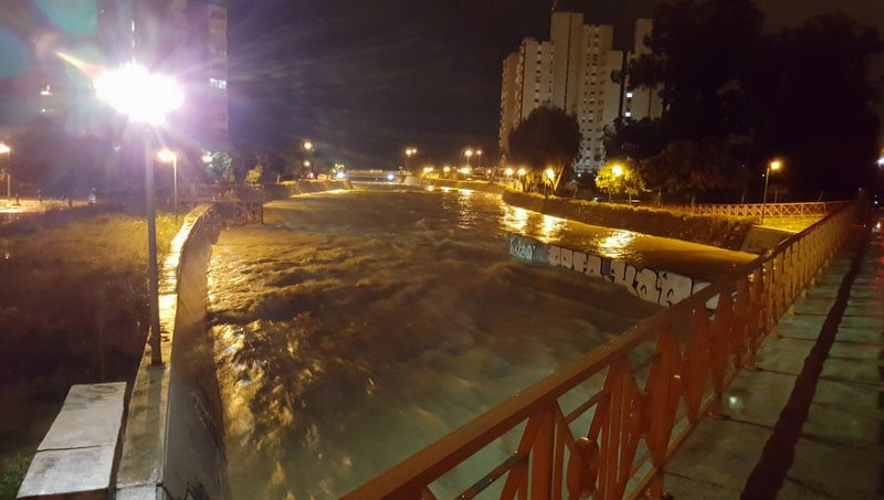 The wettest winter in the Costa Blanca for 116 years