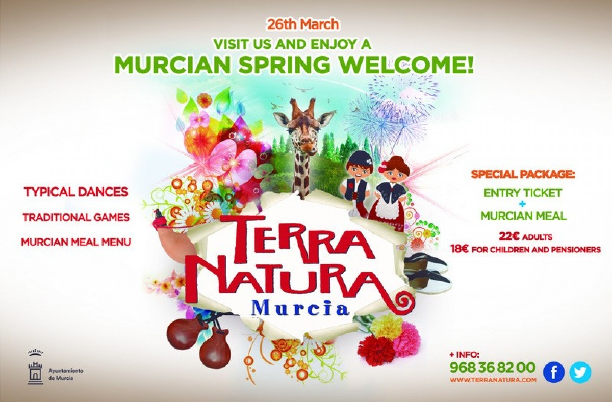 26th March Welcome in the spring at Terra Natura Murcia