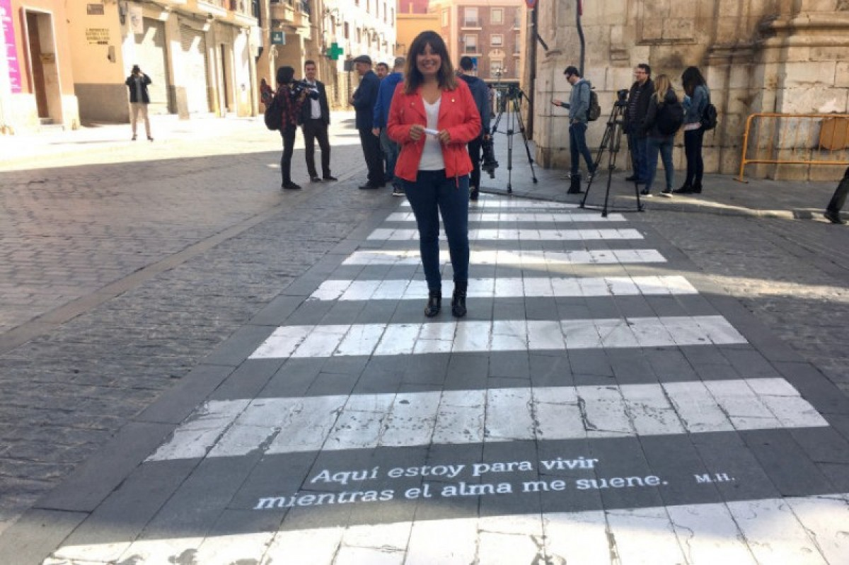 The streets of Orihuela are filled with poetry