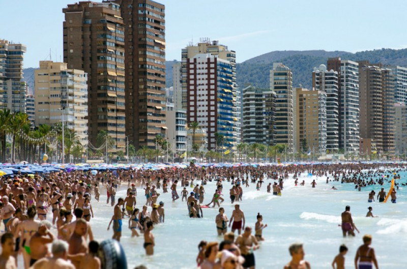 24 per cent more foreign visitors to the Valencia region in February