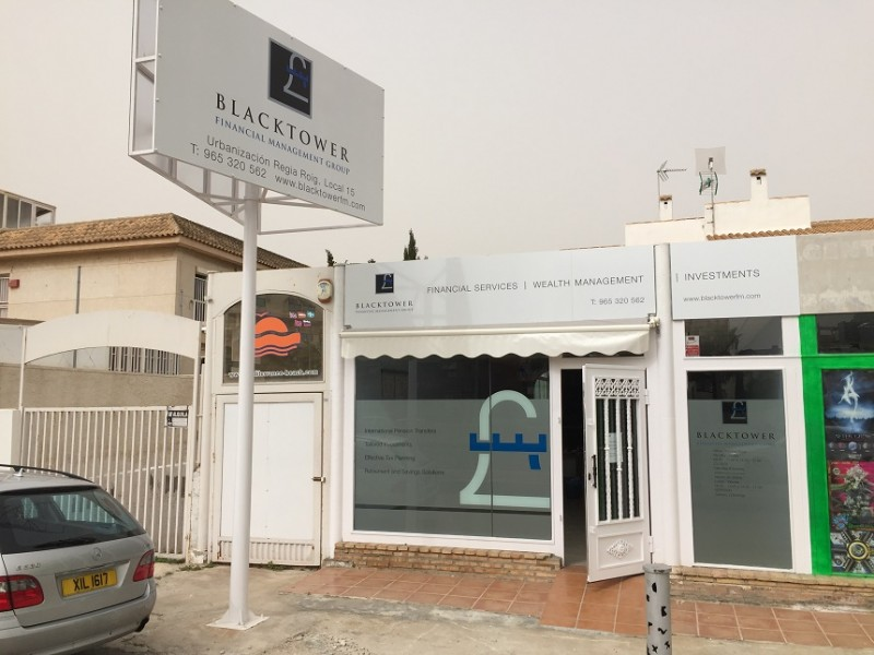 Blacktower Financial Management (Int.) Ltd open new office at Cabo Roig covering the Alicante area
