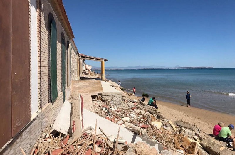 Babilonia home owners in Guardamar to pay for storm damage repairs