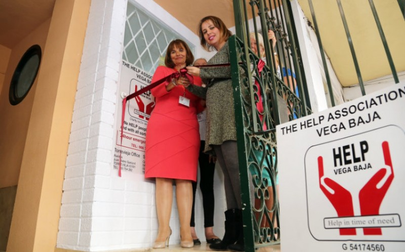 Help charity re-opens premises in Torrevieja