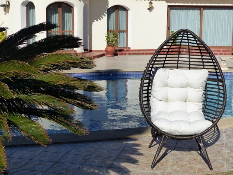 Great quality synthetic rattan garden furniture from Oceans Rattan