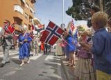 Alfaz del Pi celebrates the national day of Norway
