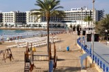 Alicante beach lifeguards on strike