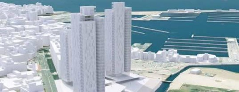 29-floor skyscrapers planned for the seafront of Torrevieja