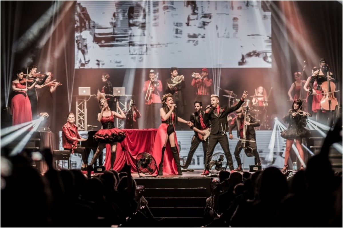 The runaway hit show Music Has No Limits heads to Alicante in November