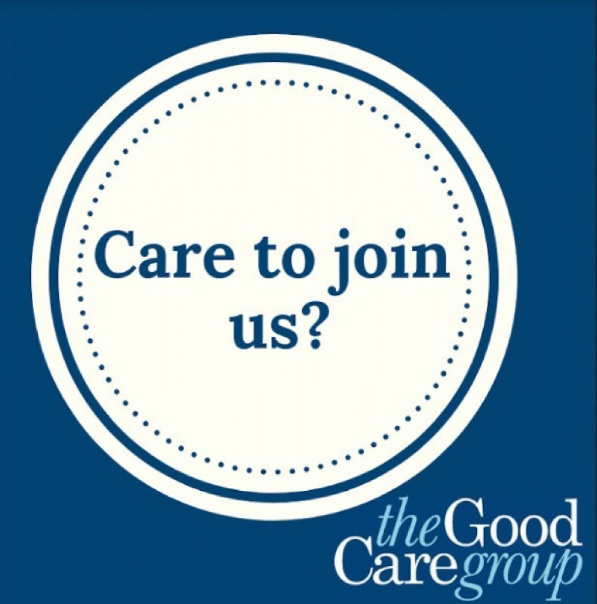 The Good Care Group recruiting professional live-in carers ONLINE